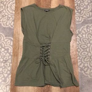 Express Corset Style Top